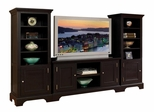 Entertainment Center Set in Ebony - Bedford - 5531-ESET-2