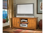 Entertainment Console in Cottage Oak - Arts and Crafts - 5180-12