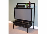 Entertainment Stand in Black/Metal - 4D Concepts - 83160