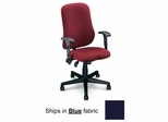 Ergonomic Office Chair - Comfort Contoured Support Chair in Blue - Mayline Office Furniture - 4019AG2111