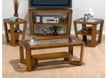 Ernie's Elm 4PC Livingroom Table Set - 053-1