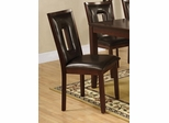Ervin Brown Faux Leather Dining Chair - Set of 2 - 102522