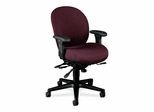 Exec High-Back Chair - Claret - HON7608BW69T