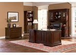 Executive Office Set in Cherry Archaize - Coaster