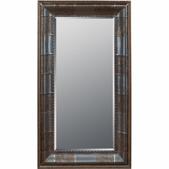 Expedition Charcoal Leaning Floor Mirror - Powell Furniture - POWELL-492-231