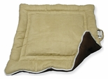 Extra Large Size Cozy Pet House Pad in Tan / Brown - NewAgeGarden - MAT002XL