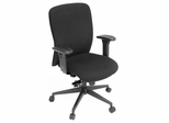 Fabric Office Chair - Ultimate Swivel Chair - 3000BK