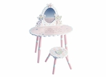Fairy Wishes Vanity and Stool Set - LOD61003