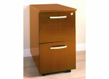 File-File Mobile Pedestals in Golden Cherry - Mayline Office Furniture - VFFGCH