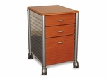 Filing Cabinet in Medium Cherry KM02 - Innovex - SKM02W99
