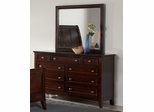 Findley Dresser in Dark Cherry - 202793