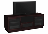 Flat Panel / Flat Screen TV Stand - 60 Inch Contemporary TV Entertainment Console for Plasma/LCD Installations - FT60CC