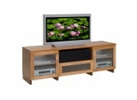 Flat Panel / Flat Screen TV Stand - 70 Inch Contemporary TV Entertainment Console for Plasma/LCD Installations - FT72CC