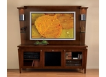 Flat Panel / Flat Screen TV Stand with Back Panel - Mozart - JSP Furniture - M-10-P