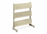 Floor Stand Literature Rack - Putty - HONMR33L