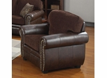 Florence Chenille Fabric/Vinyl Chair - 504043