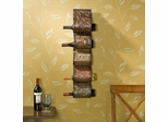 Florenz Wall Mount Wine Rack Sculpture - Holly and Martin