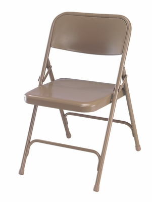 Folding Chair - Premium Steel Folding Chair (Set of 4) - National Public Seating - 200