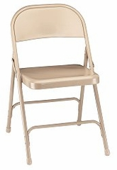 Folding Chair - Standard Steel Folding Chair (Set of 4) - National Public Seating - 50
