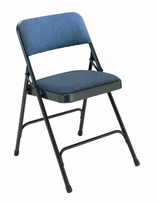 Folding Chair - Upholstered Fabric Folding Chair (Set of 4) - National Public Seating - 2200