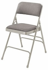Folding Chair - Upholstered Fabric Folding Chair (Set of 4) - National Public Seating - 2300