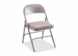 Folding Chairs - Beige 4 Count- LLR62501