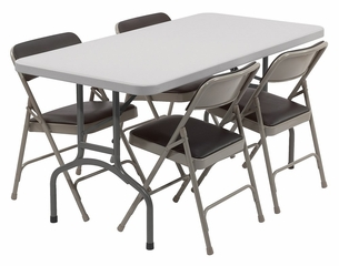 Folding Table and Chairs Package 3 - National Public Seating