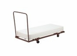 "Folding Table Dolly (Max 72"" L) - National Public Seating - DY-3072"