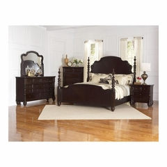 Fox Run 5 Piece Bedroom Set in Chocolate - Largo - LARGO-WG-B2370-BEDROOM-SET