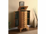 Free Standing Jewelry Chests in Oak