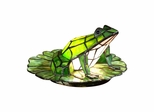 Frog Lily Pad Accent Lamp - Dale Tiffany