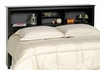 Full / Queen Size Headboard in Black - Sonoma Collection - Prepac Furniture - BSH-6643