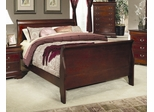 Full Size Bed - Louis Philippe Full Size Bed in Cherry - Coaster - 200431F