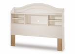 Full Size Bookcase Headboard in Vanilla Cream - South Shore Furniture - 3210093