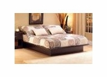 Full Size Platform Bed in Chocolate - South Shore Furniture - 3159234