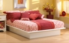 Full Size Platform Bed in Pure White - South Shore Furniture - 3050234