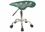 Garage Stool - Stool in Green - LF-214A-GREEN-GG
