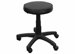 Garage Stool - Stool with Black Vinyl Seat with Gas Lift - KC96G-GG