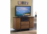Geo 44 Inch Compact Credenza in Walnut - Home Styles - 5539-100