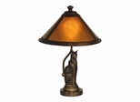 Ginger Mica Accent Lamp - Dale Tiffany