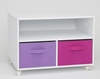 Girl's TV Cart in White - 4D Concepts - 12410