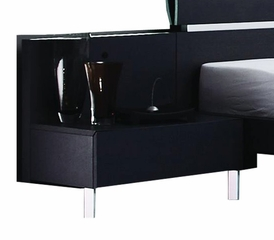 Glamour Night Stand - Bellini Modern Living - GLAMOUR-NIGHT-STAND-BLK