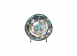 Glass Seaside Heights Charger with Stand - Dale Tiffany