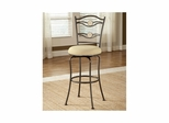 Golden Bronze Harbour Point Double Circle Swivel Counter Stool - Hillsdale