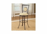 Golden Bronze Harbour Point Swivel Barstool - Hillsdale