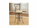 Golden Bronze Harbour Point Swivel Counter Stool - Hillsdale