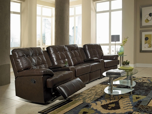 Grace 4-Seated Home Theater Seating - 600137