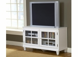 "Grand Bay 48"" Entertainment Console in White - Hillsdale Furniture - 6122-885W"