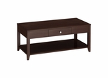 Grand Expressions Coffee Table in Warm Molasses - Kathy Ireland