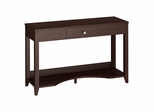 Grand Expressions Laptop / Sofa Table in Warm Molasses - Kathy Ireland
